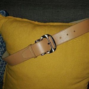 Michael Kors Leather Belt Size Medium